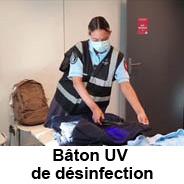 Baton UV de désinfection